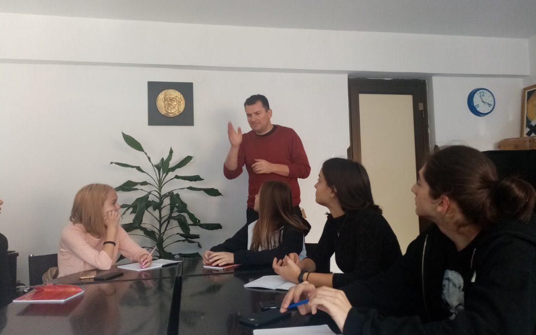 Посета писца Енеса Халиловића